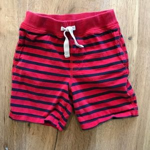 Baby Gap Striped Knit Pull On Shorts